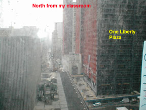North from my windows.