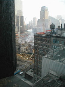 The view northwest from the 14th floor