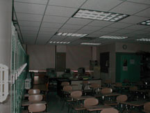 What you see walking in, looking north