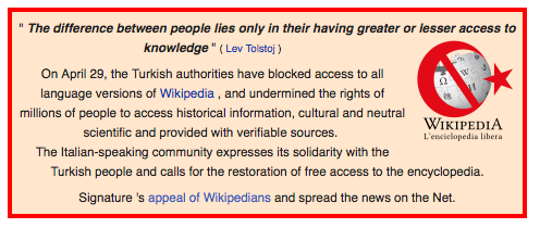 Turkish Wikipedia Ban