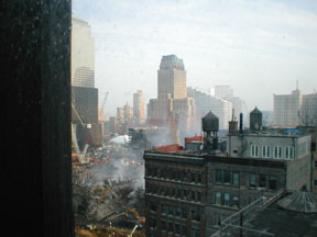 Another view northwest from the 14th floor