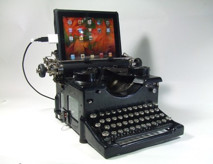 USB Steampunk Typewriter