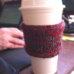 Knit your own Finnish Coffee Cozy
