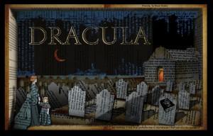 Dracula Shadowbox by Ehren Ziegler
